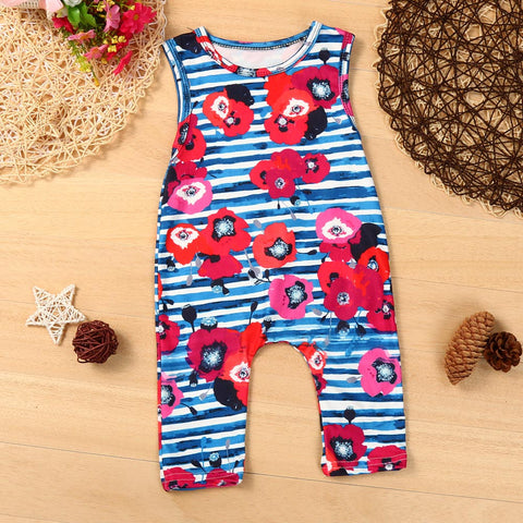 Flower Power Romper - Present Baby | clothes, rompers, bibs, shoes, blankets, dresses & more