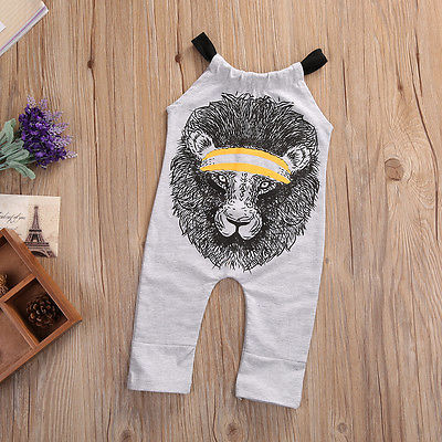 Lion Heart Romper - Present Baby | clothes, rompers, bibs, shoes, blankets, dresses & more