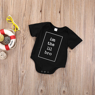 I'm The Lil Bro Romper - Present Baby | clothes, rompers, bibs, shoes, blankets, dresses & more