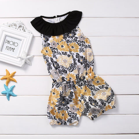 Oriental Flower Romper - Present Baby | clothes, rompers, bibs, shoes, blankets, dresses & more