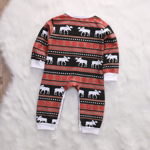 Buck Christmas Knit Romper - Present Baby | clothes, rompers, bibs, shoes, blankets, dresses & more