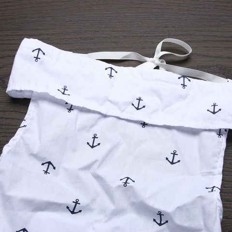 Nautical Anchor Baby Romper - Present Baby | clothes, rompers, bibs, shoes, blankets, dresses & more
