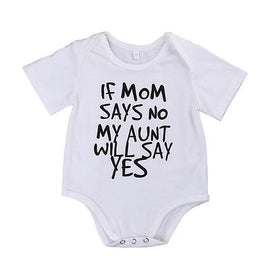 Awesome Aunt Romper - Present Baby | clothes, rompers, bibs, shoes, blankets, dresses & more