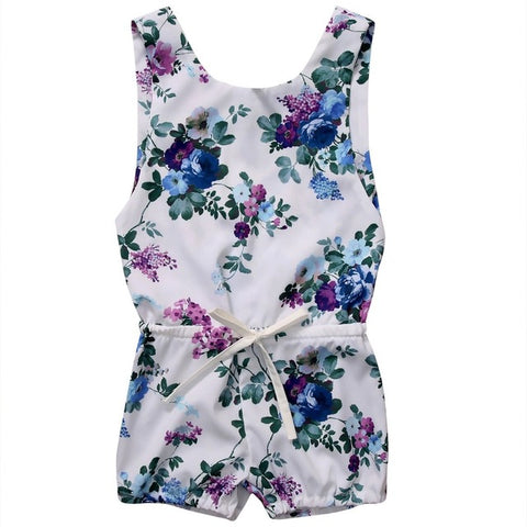 Purple Spring Romper - Present Baby | clothes, rompers, bibs, shoes, blankets, dresses & more