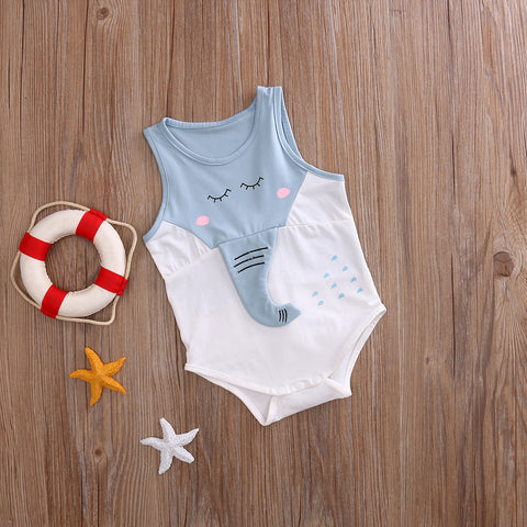 Baby Elephant Nose Romper - Present Baby | clothes, rompers, bibs, shoes, blankets, dresses & more