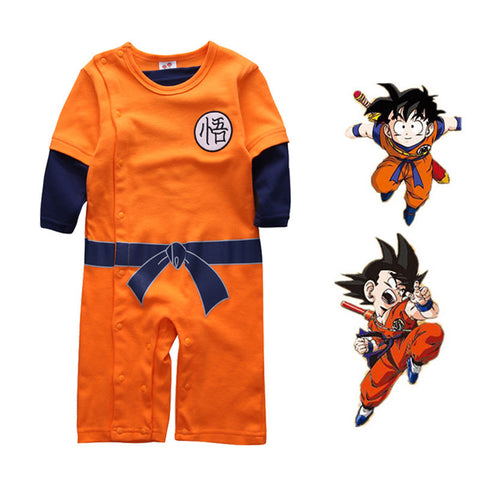Goku Dragonball Romper - Present Baby | clothes, rompers, bibs, shoes, blankets, dresses & more