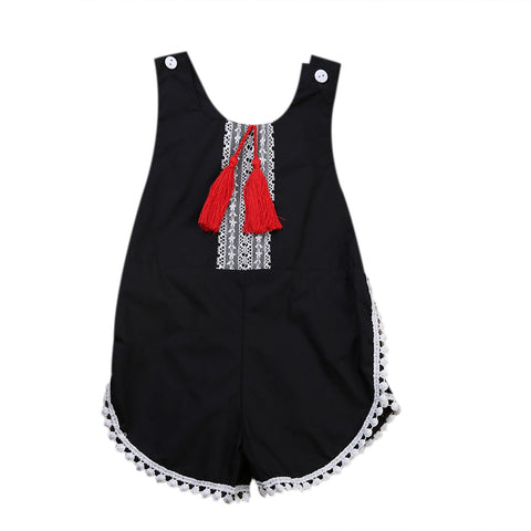 Tinker Tassel Romper - Present Baby | clothes, rompers, bibs, shoes, blankets, dresses & more