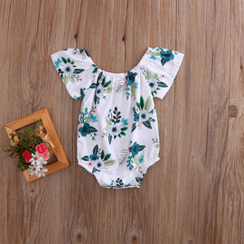 Lush Green Spring Romper - Present Baby | clothes, rompers, bibs, shoes, blankets, dresses & more