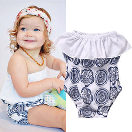 Delft Blue Sunsuit - Present Baby | clothes, rompers, bibs, shoes, blankets, dresses & more