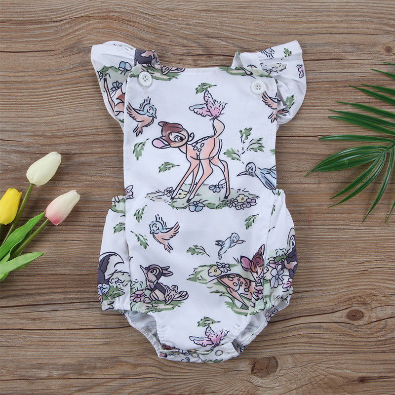 067a1503bfa Bambi Forest Romper - Present Baby