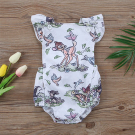 Bambi Forest Romper - Present Baby | clothes, rompers, bibs, shoes, blankets, dresses & more