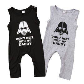 Don't Mess With My Daddy Vader Romper - Present Baby | clothes, rompers, bibs, shoes, blankets, dresses & more