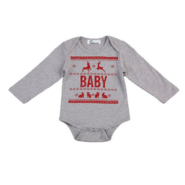 Baby Warm Christmas Winter Romper - Present Baby | clothes, rompers, bibs, shoes, blankets, dresses & more