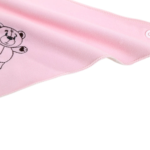 3 Pack - Pink Bear Bib Set - Present Baby | clothes, rompers, bibs, shoes, blankets, dresses & more
