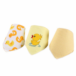 3 Pack - Little Duck Bib Set - Present Baby | clothes, rompers, bibs, shoes, blankets, dresses & more