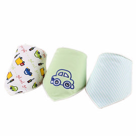 3 Pack - Cute Car Bib Set - Present Baby | clothes, rompers, bibs, shoes, blankets, dresses & more