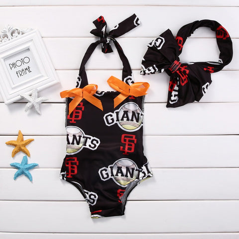 New York Giants Fan Romper - Present Baby | clothes, rompers, bibs, shoes, blankets, dresses & more