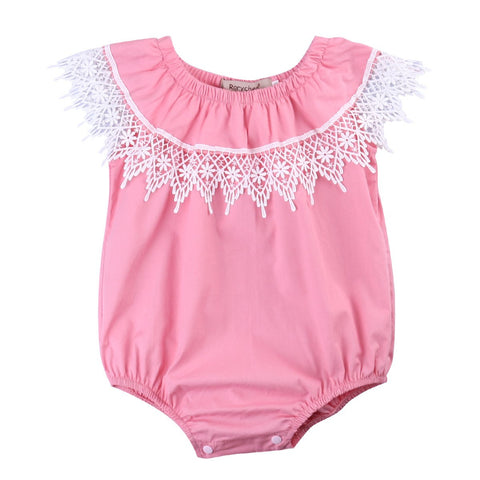 Dainty Romper - Present Baby | clothes, rompers, bibs, shoes, blankets, dresses & more
