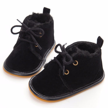 Fuzzy Winter Boot Shoes - Present Baby | clothes, rompers, bibs, shoes, blankets, dresses & more