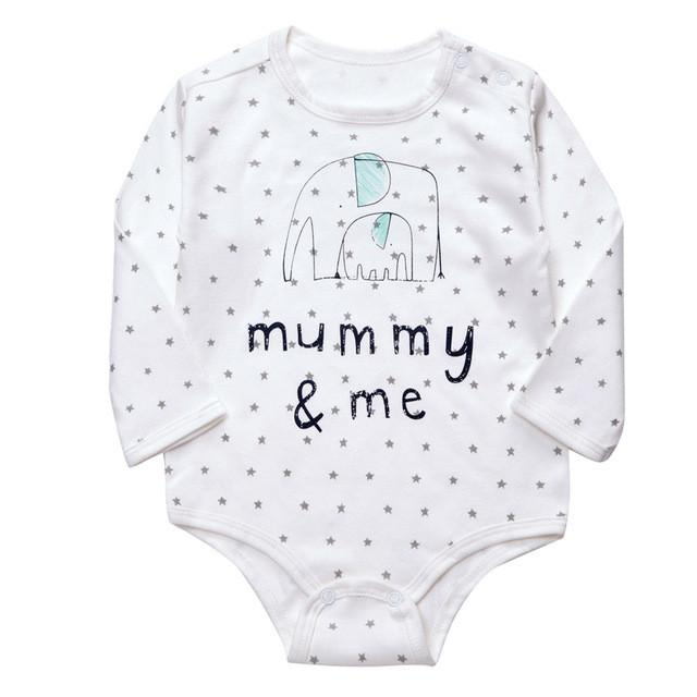 Daddy, Mummy & Me Romper - Present Baby | clothes, rompers, bibs, shoes, blankets, dresses & more