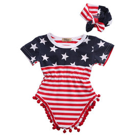 Independence Day Romper - Present Baby | clothes, rompers, bibs, shoes, blankets, dresses & more