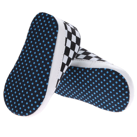 Checkered Plaid Mellow Shoes - Present Baby | clothes, rompers, bibs, shoes, blankets, dresses & more