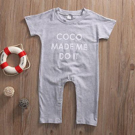 Coco Made Me Do It Romper - Present Baby | clothes, rompers, bibs, shoes, blankets, dresses & more