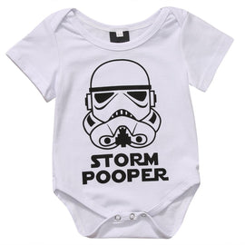 Storm Pooper Baby Romper - Present Baby | clothes, rompers, bibs, shoes, blankets, dresses & more