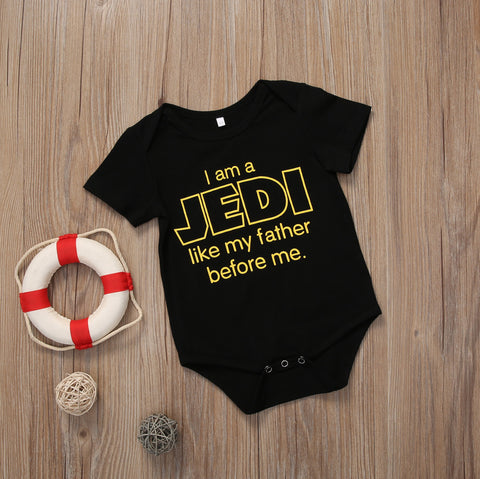 I am a Jedi Romper - Present Baby | clothes, rompers, bibs, shoes, blankets, dresses & more