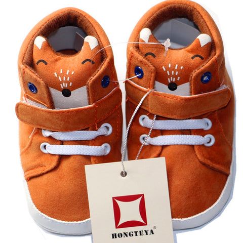 Cutey Foxy Shoes - Present Baby | clothes, rompers, bibs, shoes, blankets, dresses & more