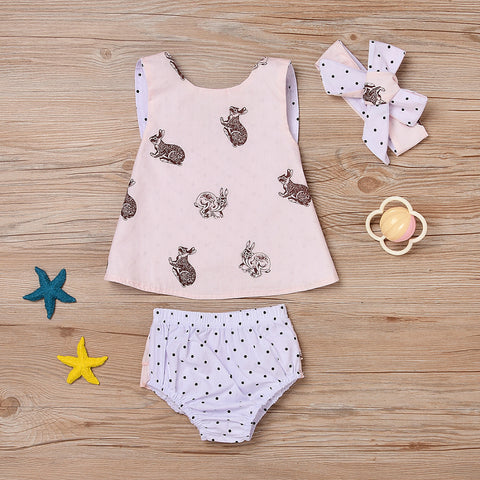 Innocent Rabbit Romper Set - Present Baby | clothes, rompers, bibs, shoes, blankets, dresses & more