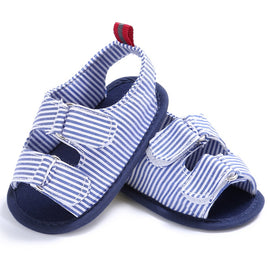 Summer Striped Sandals - Present Baby | clothes, rompers, bibs, shoes, blankets, dresses & more