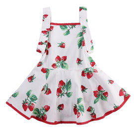 Red Strawberry Romper - Present Baby | clothes, rompers, bibs, shoes, blankets, dresses & more