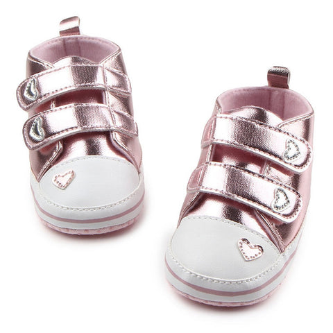 Glitter Love Shoes - Present Baby | clothes, rompers, bibs, shoes, blankets, dresses & more