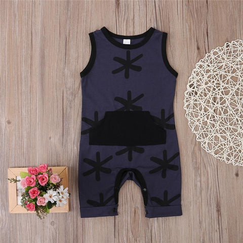 Palm Tree Summer Boy Romper - Present Baby | clothes, rompers, bibs, shoes, blankets, dresses & more