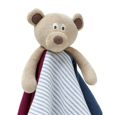 Dancing Bear Security Blanket - Present Baby | clothes, rompers, bibs, shoes, blankets, dresses & more