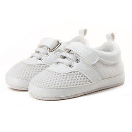 Air Mesh Strap On Shoes - Present Baby | clothes, rompers, bibs, shoes, blankets, dresses & more