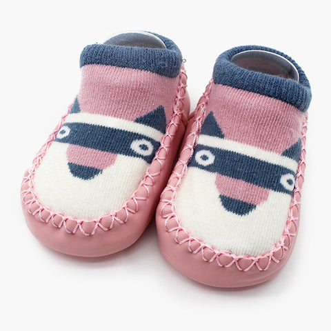 Friendly Animals Baby Shoe Socks - Present Baby | clothes, rompers, bibs, shoes, blankets, dresses & more