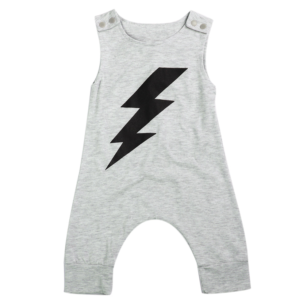 Lightning Baby Romper - Present Baby | clothes, rompers, bibs, shoes, blankets, dresses & more