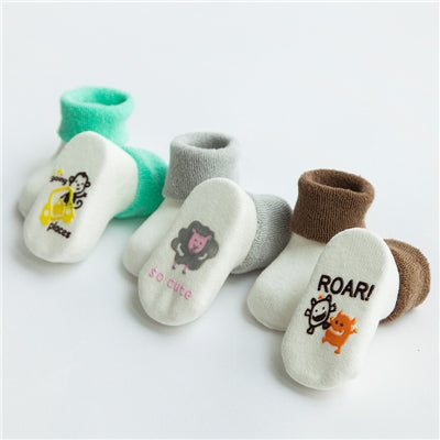 3 Pack - Winter Wonderland Shoe Socks - Present Baby | clothes, rompers, bibs, shoes, blankets, dresses & more