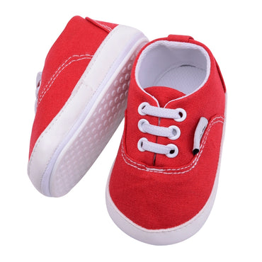 Canvas Baby Sneaker Shoes - Present Baby | clothes, rompers, bibs, shoes, blankets, dresses & more