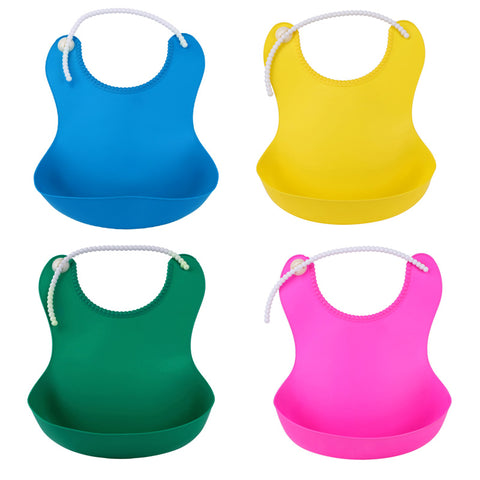 Basic Silicone Bib - Present Baby | clothes, rompers, bibs, shoes, blankets, dresses & more