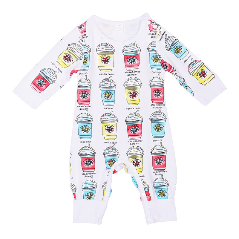 Coffee Names Baby Romper - Present Baby | clothes, rompers, bibs, shoes, blankets, dresses & more