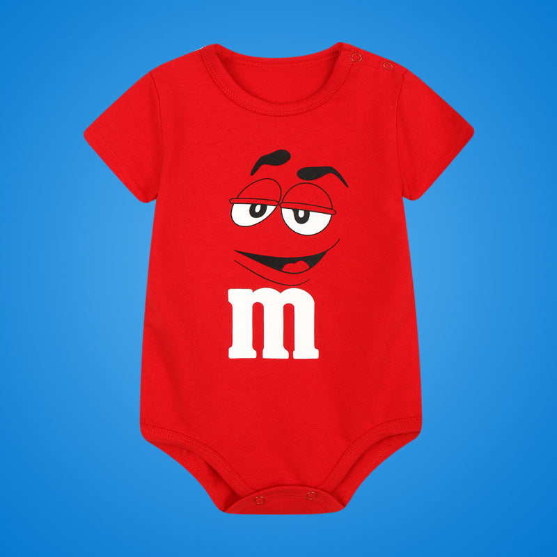 M&M Romper - Present Baby | clothes, rompers, bibs, shoes, blankets, dresses & more