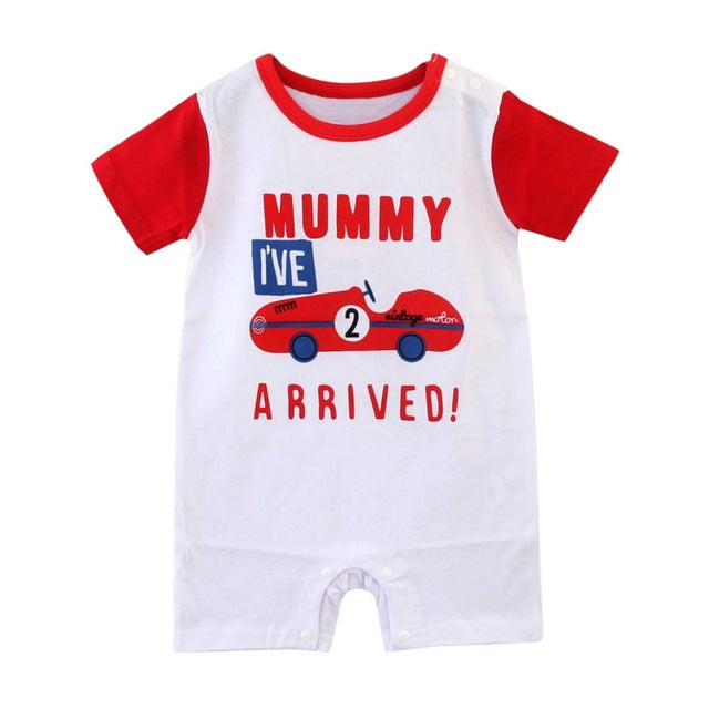 Mummy I've Arrived Romper - Present Baby | clothes, rompers, bibs, shoes, blankets, dresses & more