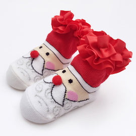 Jolly Santa Christmas Socks - Present Baby | clothes, rompers, bibs, shoes, blankets, dresses & more