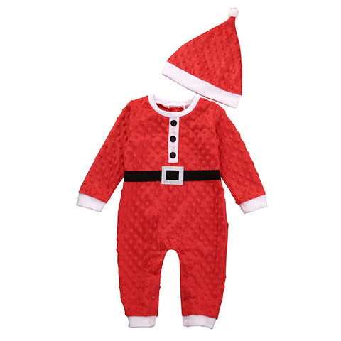 Mr & Mr's Clause Romper - Present Baby | clothes, rompers, bibs, shoes, blankets, dresses & more