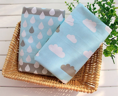 Cloudy Sky Bed Sheet - Present Baby | clothes, rompers, bibs, shoes, blankets, dresses & more
