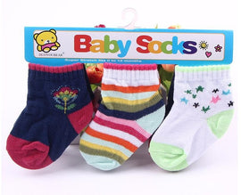 3 Pack - Happy Baby Socks Black Set - Present Baby | clothes, rompers, bibs, shoes, blankets, dresses & more