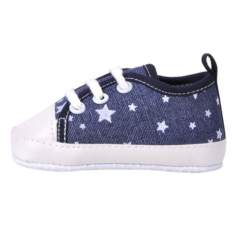 Starry Baby Sneakers - Present Baby | clothes, rompers, bibs, shoes, blankets, dresses & more